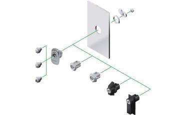 Indsats for låsesystem