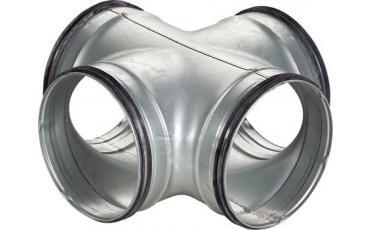 X-stykke til cirkulær ventilationskanal