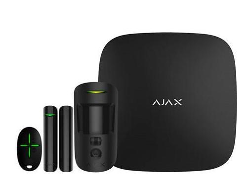 Solar plus ajax alarm-2 kit, sort