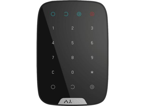 Ajax Betjeningspanel, keypad, sort