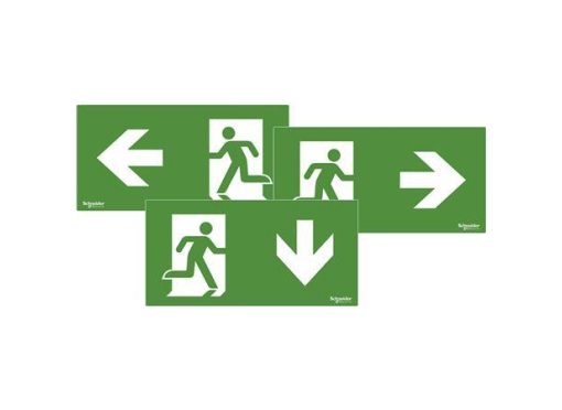 Pictogram exiway one iso læsbar 22m