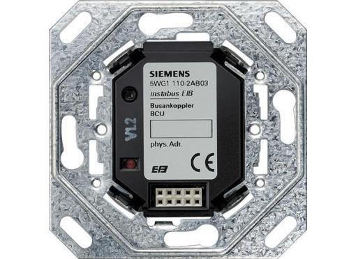 Siemens KNX bustilslutning up110