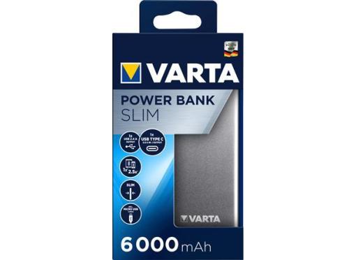 Varta Power bank 6000mah slim