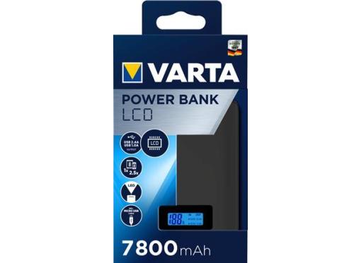 Varta Power bank 7800mah LCD