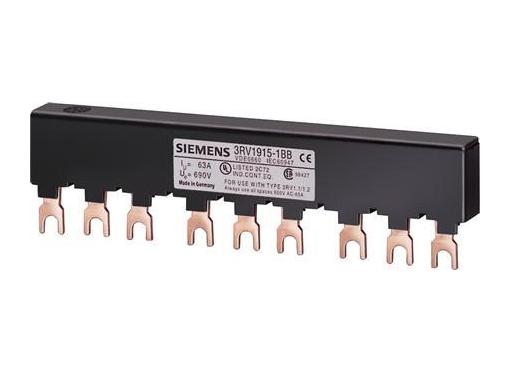 Siemens 3rv samleskinne s00/s0 45mm