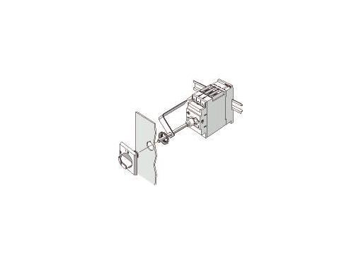 Siemens 3rv dørkobling s0/s3 sort