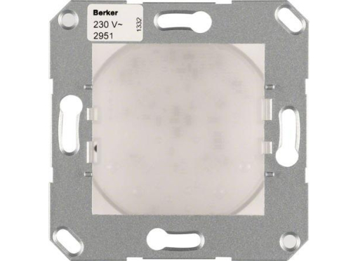 Berker Led-signallys rgb s/b 230V RAL9010 blank