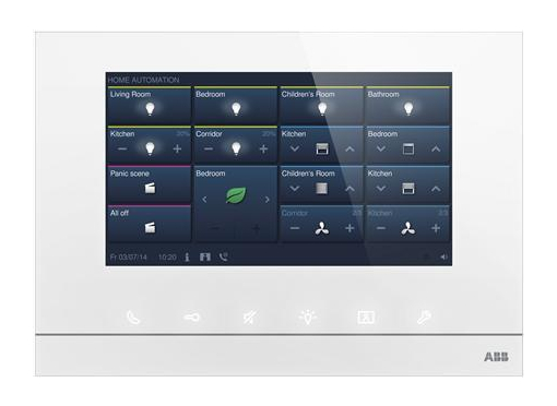 ABB free@hometouch 7'' hvid