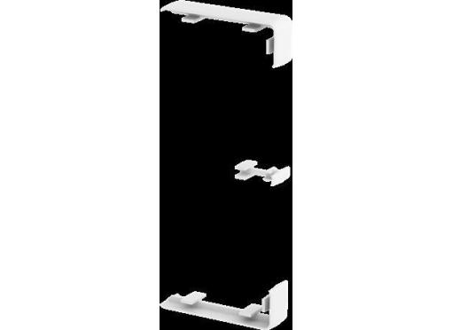 Samlestykke rapid45-2 gk-ks45-1rw hvid