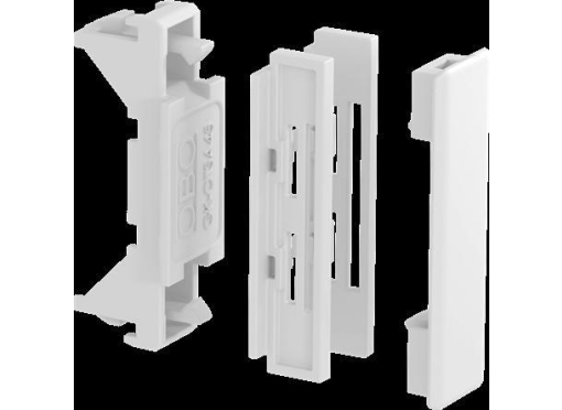 Samlestykke rapid45-2 gk-otsa45rw hvid