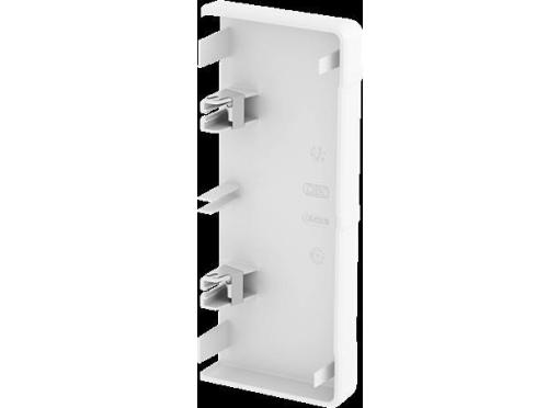 Endestykke rapid45-2 130MM hvid