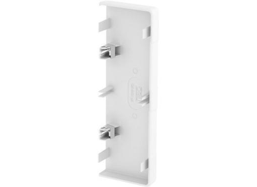 Endestykke rapid45-2 165MM hvid