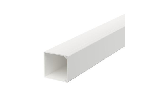 Kabelkanal 25x25mm, Hvid