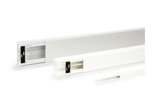 Rehau Kabelkanal le 15x15mm grå RAL 7030