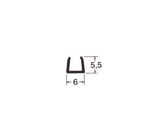 Hager Kanal mini-snap 6x5,5 perlehvid