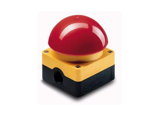 Eaton Paddehattetryk Ø95 rød/gul