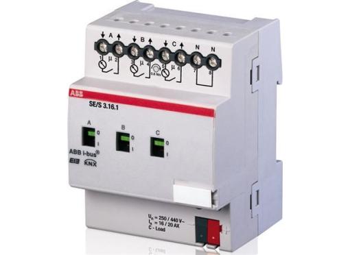ABB Energi aktuator, 3-fold, 16/20A