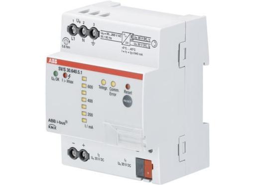 ABB KNX strømforsyning, 30 v DC 640 ma,