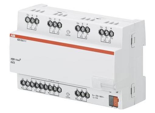 ABB Io aktuator, 8-fold, mdrc
