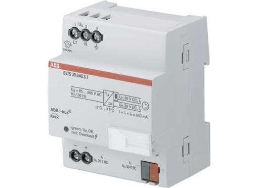 ABB KNX strømforsyning standard, 640 ma