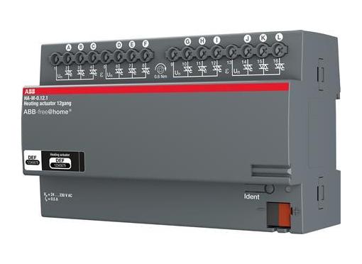 ABB Aktuator varmestyring 12x160ma din8m