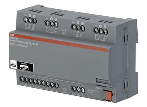 ABB Aktuator relæ med 8 input 8x6a (AC 1) din8m