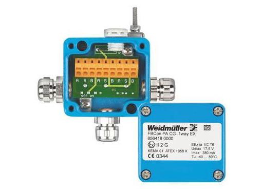 Weidmüller Fbcon pa cg 1 way ex 856418