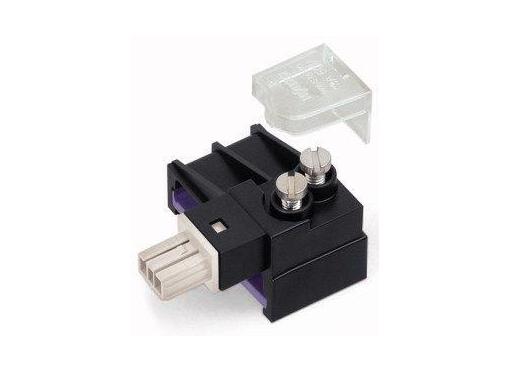 Wago Afgren.modul 2P skruetilslut lysegrå