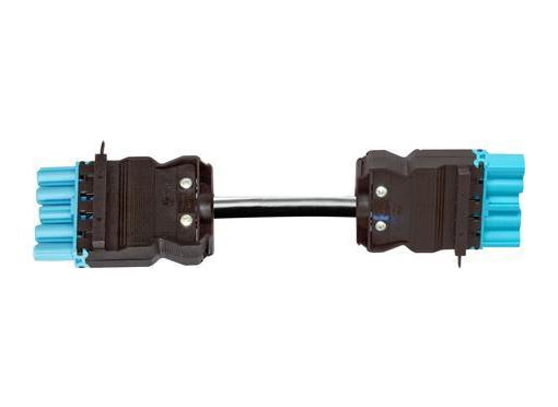 Wieland Kabel han/hun 5p hf 1,5mm2 bl 1m m.test