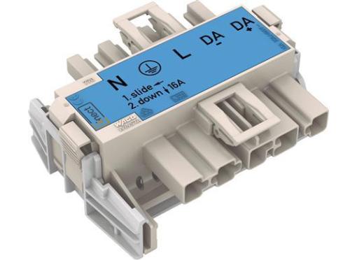 Wago 5-polet adapter til linect«