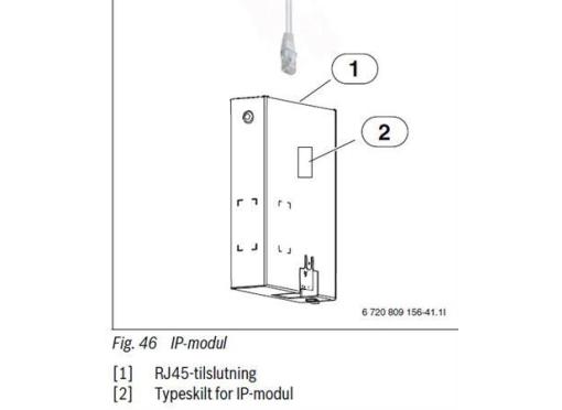Bosch Ip modul til compress 3000 aws