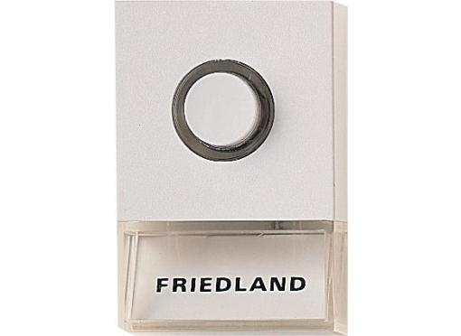 Friedland By Honeywell Ringetryk pushlite hvid d723w