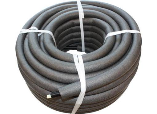 Pex rør, Unipex 15x2,5mm, varme og brugsvand, rør i rør isoleret, 50mtr.