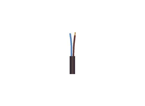 Gummikabel 2x0,75 h05rr-f 100rg