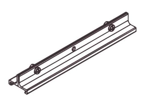Wirebeslag lang 3-f sort