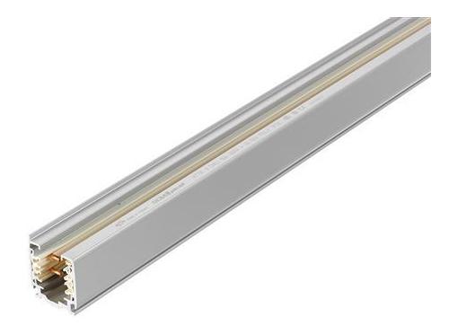 Lysskinne dali 3-f påbyg 2 meter grå