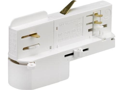Adaptor dali 3-f 10A 100n hvid