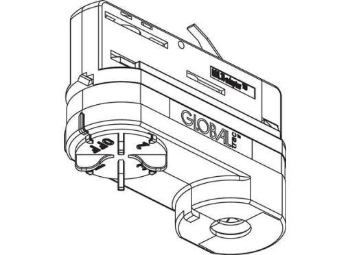 Lival Adaptor u3 med tilbehør hvid