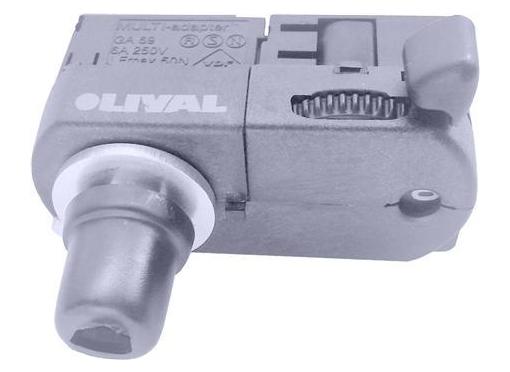 Adaptor u3 6a med tilbehør grå