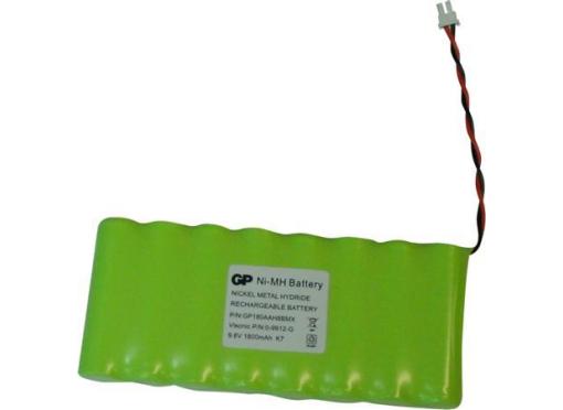 Visonic Batteri 9.6v nimh til pm pro/pm 30 & 33