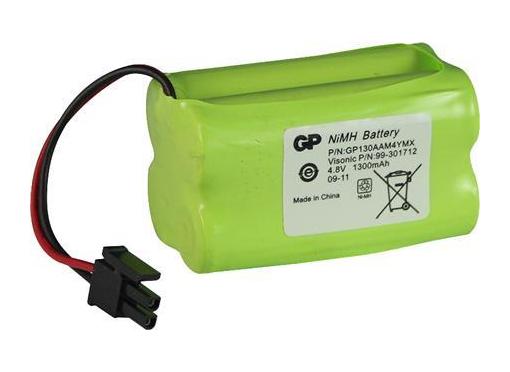 Visonic Batteri powermaster 10, 1300mah