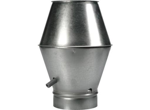 Lindab Jethætte hn-160 galvaniseret