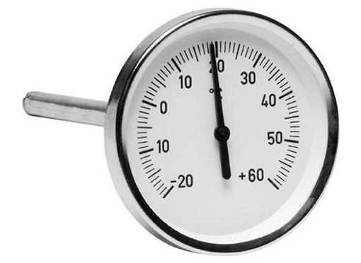 Lindab Termometer TMl Ø80 l=150MM -20/+60gr