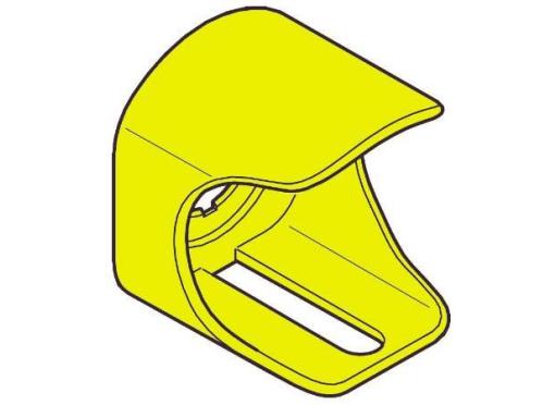 ABB Beskyttelseskappe gul afl selig