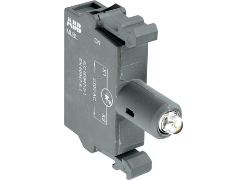 ABB Lampe blok led grøn mlbl-01g