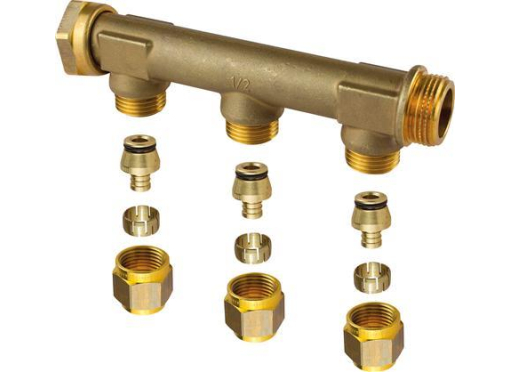 Uponor ford.rør 3/4''omløber 3x15 c/c50mm