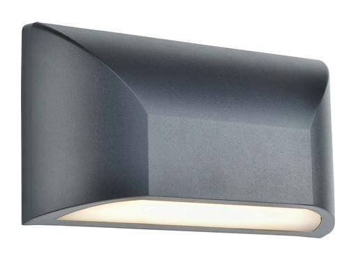 Nikos udendørs væglampe 6W, mørk grå