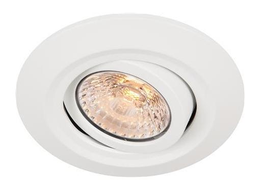 Comfort Quick TW indbygningsspot 6W/927-920 kipbar Ø95 hvid