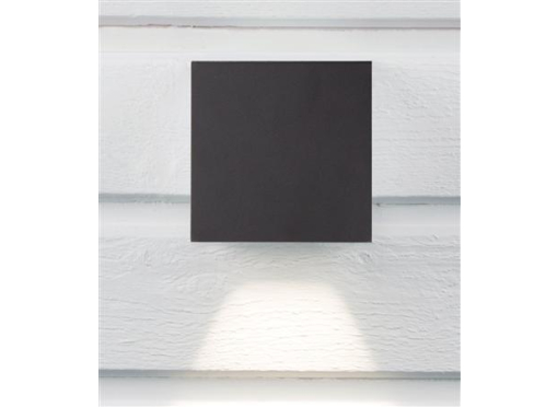 Cube I udendørslampe 3W/830 IP65 antracit
