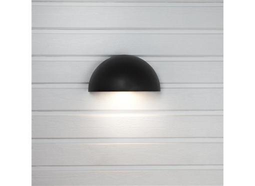 Arc udendørslampe 2 x Schuko udtag 7w/830 Antracit
